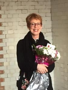 Carole leaving do flowers